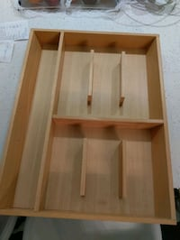 Wood Cutlery Tray/Drawer Organizer Montréal, H4M 1N2