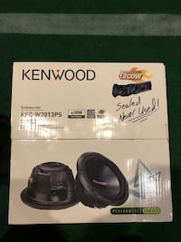 Kenwood 12 in. Subwoofer