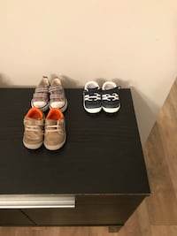 Baby boy shoes- 1 pair size 3, two pair size 4 Ashburn, 20147