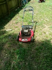 red and black push mower Athens, 30606