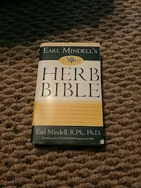 Herb Bible book by Earl Mindell, R.Ph.