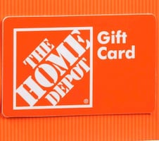 Home depot gift card for sale