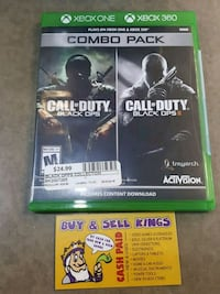COD COMBO PACK Xbox One AND Xbox 360