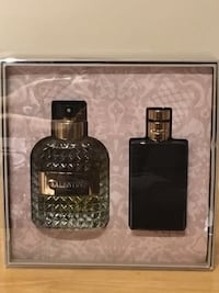 BRAND NEW MENS VALENTINO UOMO EAU DE TOILETTE GIFT SET (hard plastic cover never removed) Vancouver, V5R