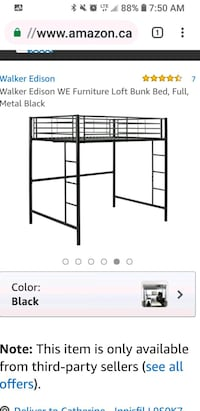 Metal bunk bed...practically new Barrie, L4N 7A1