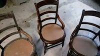 5 old chairs Zanesville, 43701