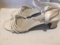 Nude sandal heels - Size 10  Calgary, T2A 5C4