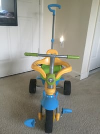 smarTrike Breeze Baby Tricycle/Trike, Yellow-Blue Herndon, 20170