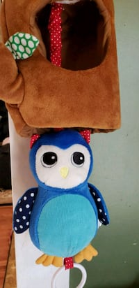Owl pull toy lullaby