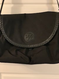 NYLON AND LEATHER MESSENGER BABY BAG Toronto, M9A 4T6