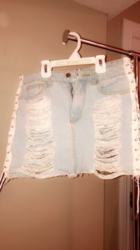 Denim Mini skirt Edmonton