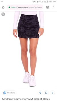women's black lace mini skirt 542 km