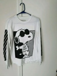 Snoopy sweatshirt and shirt  Ladson