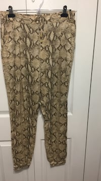 Size small fits 36-38 linen lightweight summer pants by H&M Edmonton, T5T 1Y6
