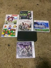 New Nintendo 3DS Xl with 6 games.