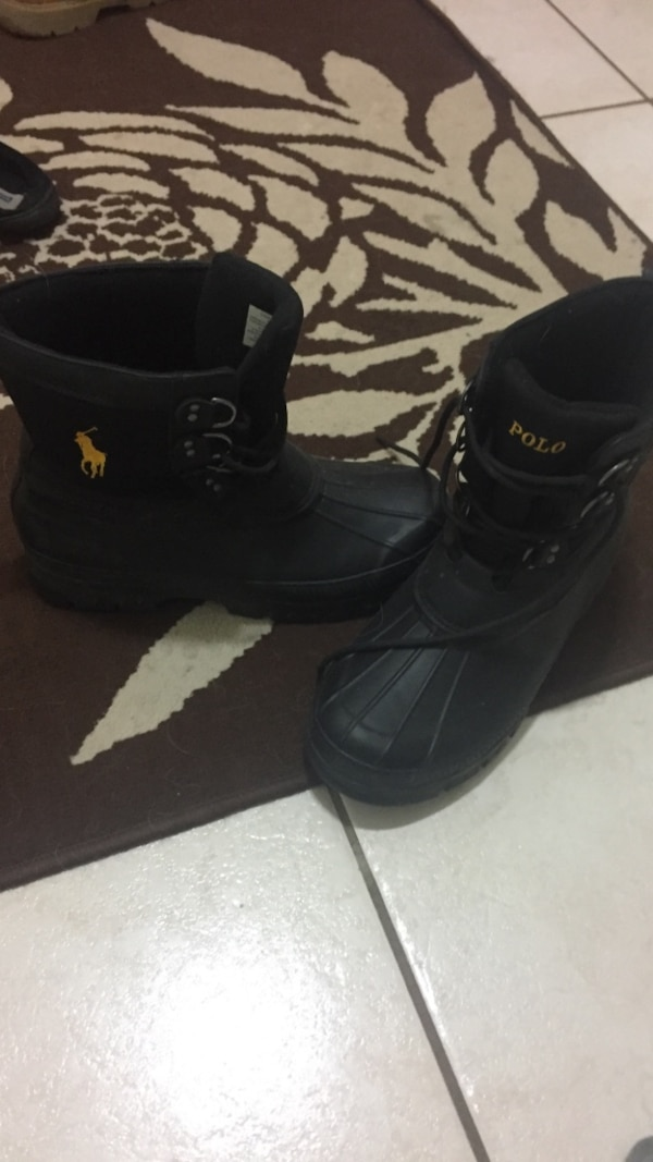 Black Polo Duck Boots - Best Picture Of Boot Imageco.Org 052acdb2d