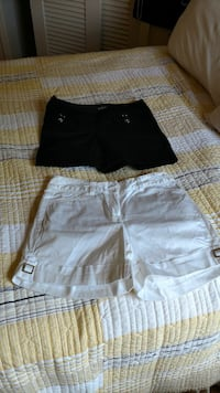 two black and white shorts Clyde, 28721