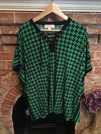 green and black button-up shirt Calgary, T2T 0H7