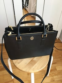 Tory Burch Robinson Mini EW tote Black