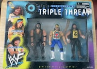 Mick Foley Triple Threat 3 Pack Figures Winnipeg, R2W 5G4
