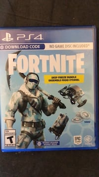 Fortnite deep freeze bundle  Edmonton, T5Z 1W5