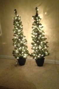 Indoor/Outdoor Artificial Lite XMAS TREES Fairfax Station, 22039