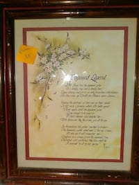 wall decoration with brown wooden frame Russellville, 37860