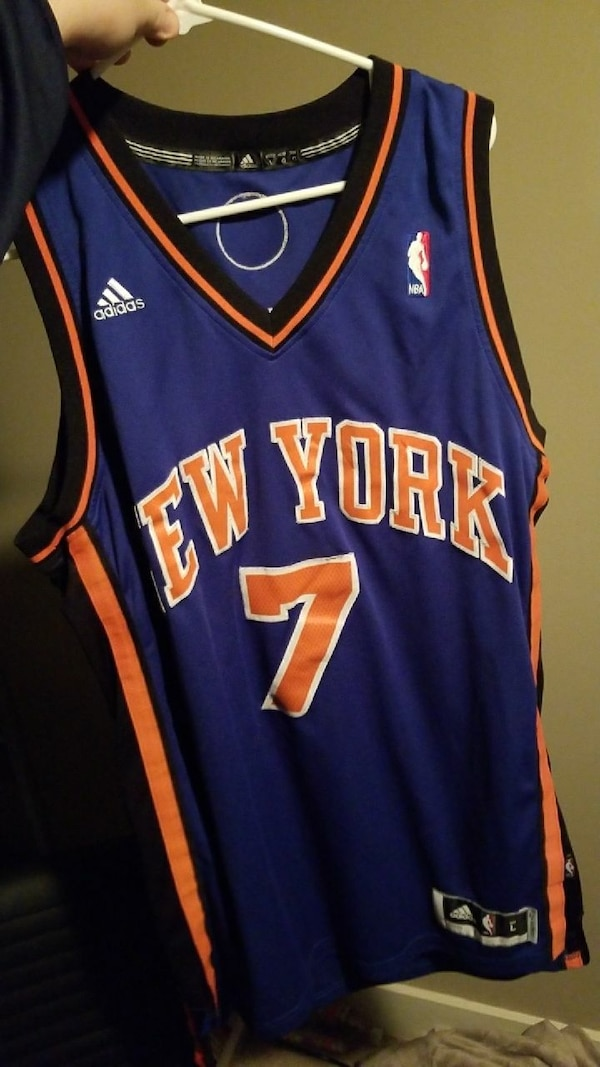 60d7101ea Used blue New York 7 Adidas jersey for sale in Chattanooga - letgo