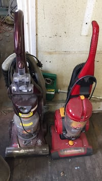 red and black upright vacuum cleaners East Lansdowne, 19050