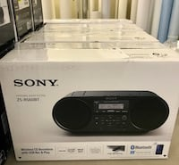 New Sony AM/FM CD Bluetooth boom box. USB  Toronto, M3A 1V3