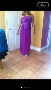 Woman maxi dress size 10 Max and Cleo brand