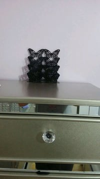 Black Decorative mail holder Only serious buyers London, N6E 2N3