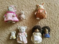 Little woodzies & calico critters animals  Stafford, 22554