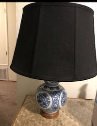 black and white table lamp Reno, 89503