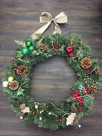 Christmas wreath 20'' holiday  Downers Grove, 60516