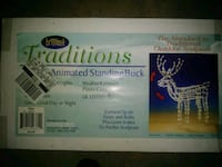 2 cases new.Animated Xmas Buck Pick up only. Mount Morris, 48458