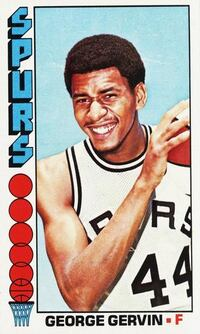 TOPPS 1976-77 BigBoy Basketball Cards with #68 George Gervin
