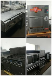 Commercial oven, griddle, stove, deep fryer London, N5W 4M3