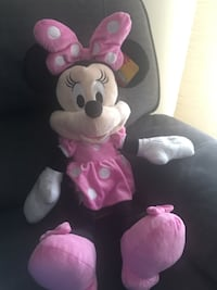 Large Minnie Mouse Soft Doll
