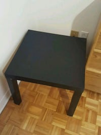 rectangular black wooden coffee table Montréal, H2B 2P9