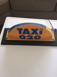 taxi taklampa Stockholm, 127 34