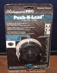 SHAKESPEARE PRO UNIVERSAL 2 LINE PUSH-N-LOAD REPLACEMENT TRIMMER HEAD Αθήνα
