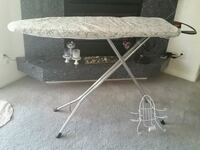 Deluxe Ironing Board, Deluxe Cover & Wall Mount 2061 mi