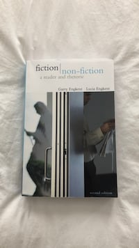 """""""Fiction/non-fiction a reader and a rhetoric"""" good condition, barely used it. Price negotiable. Vaughan, L4H 2N4"""