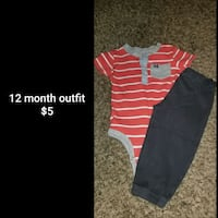 12 month outfit  Council Bluffs, 51501