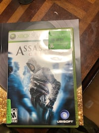 Assassin's creed xbox 360 game  Ottawa