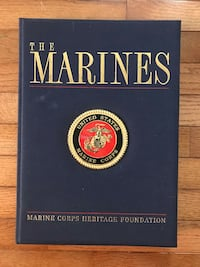 The Marines - Book - 1998 - $8