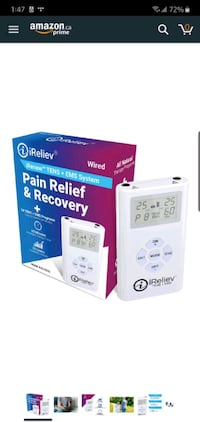 iReliev Pain Relief Muscle Stimulator (Soulagement des muscles)