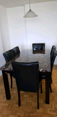 Dining table with 6 chairs Toronto, M2J 3C7