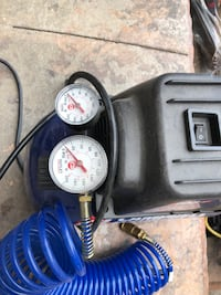 black and blue Campbell Hausfeld air compressor Mississauga, L5M 5J2